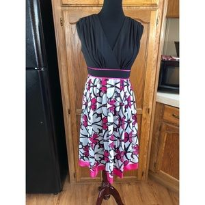 Flare Skirt Dress by SL Fashions Size 6